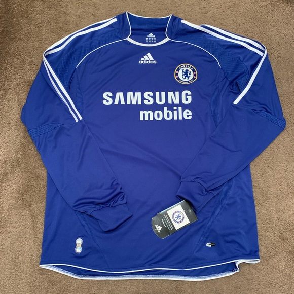 on sale d3a35 26581 06/08 Chelsea Home Soccer Football Jersey Kit
